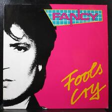 "Fancy - Fools Cry 12"" 45 RPM Mint- 887827-1 Germany 1988 Vinyl Record"