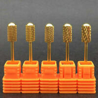 Nail Art Drill Bits Electric Tungsten Bullet Cuticle Sanding Manicure Carbide