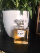 Chanel No 5 100ml Eau De Parfum. Used About 10%