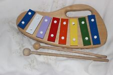 Xylophone Les L'Enfant wooden with handle