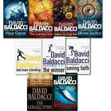 David Baldacci Will Robie Series 9 Books Collection Set  Paperback NEW