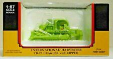 First Gear 80-0309 International TD-25 Crawler w/ Ripper HO 1:87 Scale Diecast