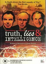 "IRAQ WAR POLITICAL TERRORISM DOCUMENTARY "" Truth, Lies & Intelligence (DVD) RARE"