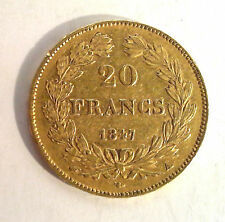 20 Francs Or LOUIS PHILIPPE - 1847 A PARIS