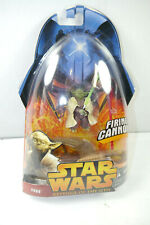 Star Wars Revenge Of The Sith - Yoda Firing Cannon Figurine Action Hasbro (MF15