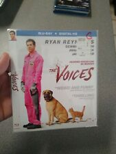 The Voices Blu Ray Slipcover ONLY. SEALED. No Discs