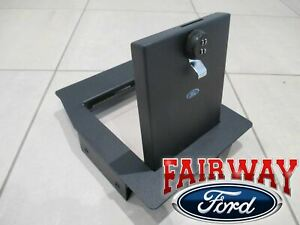 17 thru 22 Super Duty Ford Console Security Vault Gun Safe with Captain Chairs
