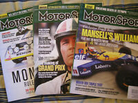 3 MOTORSPORT MAGAZINES August 2017 August December 2016  Rover Jaguar Grand Prix