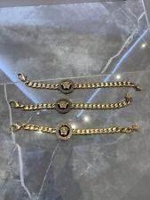 3x Versace Golden Bracelet (selling All Together)