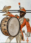 Framed canvas art print giclee Drum Major, The Saturday Evening Post cover