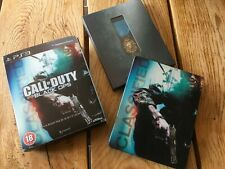 Call of Duty Black Ops Hardened Edition Steelbook + Medal playstation 3 Game