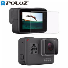 PULUZ Tempered Dispaly  Glass  HD Screen Protector  Lens Cover  For GoPro HERO5