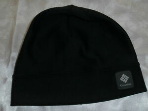 Columbia Women's Head of The Trail Beanie Fitted Black Thermal Cap Size S/M