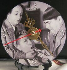 Brand New The Three Stooges Moe Larry Curly CD Clock