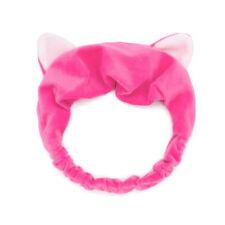 Cute Cat Ear Make Up Face Washing Shower Mask Snood Hairband Cosmetic Headband