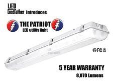 66W 5000K 4ft Garage Shop Troffer Light Fixture With 3 x 22W LED T8 Tube Lights