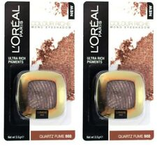 2 x LOREAL PARIS 3.5g EYE SHADOW COLOUR RICHE LUMIERE 502 QUARTZ FUME NEW