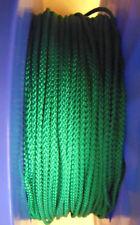 5 m PP- Seile Leinen Seil Schnur Reepschnur 3 mm 8-Fach geflochten Grün 0,20€/m