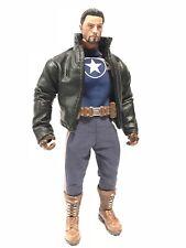 SU-JKM1-BK: Black Wired Short Jacket for Marvel Legends Mezco One:12 (No figure)