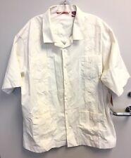 Havanera Co. Embroidered Beige 4 Pocket Front New With Tags MSRP $55.00