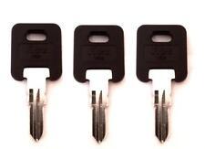 (3)RV Motorhome Travel Trailer Keys Cut to Code EF301-EF350 CF301-CF350 301-350
