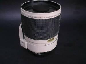 Sigma 600mm f8 Mirror Lens Pentax K Mount