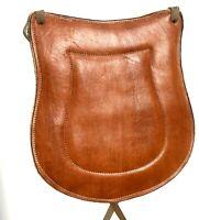Charro Saddle Leather Seat Cushion, Asiento De Cuero Para Montura