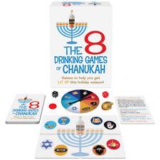 The 8 Drinking Games of Chanukah adult holiday Hanukkah Kheper Games