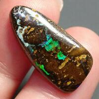 Boulder Matrix Opal 9.33ct Australian Natural Stone Cabochon SEE VIDEO