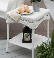 Accent Tables For Small Spaces Patio Kitchen With Storage Resin Wicker Outdoor