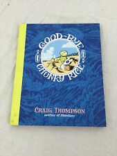 Good-Bye, Chunky Rice GN Softcover VF Craig Thompson Top Shelf Blankets Habibi