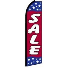 Sale King Size Polyester Swooper Flag banner sign
