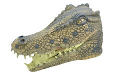CROCODILE #ANIMAL MASK OVER HEAD FANCY DRESS PARTY ACCESSORY HALLOWEEN