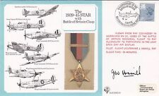 Error DM10dB 1939 - 45 Star Battle of Britain Clasp.Signed Hamill (Welsh  stamp
