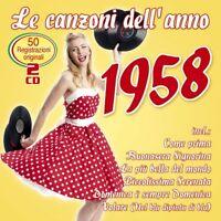 LE CANZONI DELL'ANNO 1958, COME PRIMA/LA PIU BELLA DEL MONDO/VOLARE/+  2 CD NEU