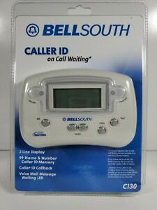 Bellsouth Caller ID with Memory, Voice Mail Message & Call Waiting CI-30 LED