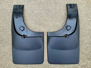 2005-2014 Ford F-150 WeatherTech REAR No Drill Mud Flaps (Pair) #120003