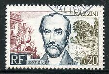 STAMP / TIMBRE FRANCE OBLITERE N° 1384 / CELEBRITE / F. MAZZINI