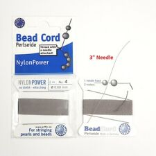 Beading Cord Nylon Thread with needle #2,#4 Group A