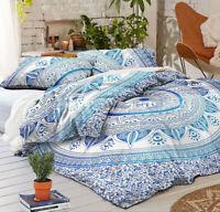 Mandala Duvet Cover Boho Indian King Quilt Comforter Cover Bohemian Bedding Set