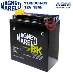 BATTERIA MAGNETI MARELLI YTX20CH-BS 18AH MOTO GUZZI SPORT 8V 1200 2009-2013
