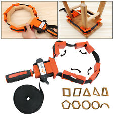 Picture Frame Woodworking Band Strap Clamp Ratchet Corner Miter Mitre Vise Tool