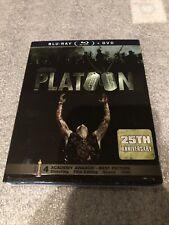 Platoon 25th Anni. (Blu-ray/Dvd) Brand New W/Rare SlipCover!