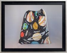 Gymnastics Leotard Grip Bags / Glow in Dark Planets Gymnast Birthday Goody Bag