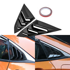 Side Window Louvers Car Rear Window Blinds Side Tuyere For Honda Civic