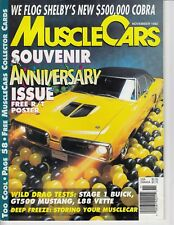 MUSCLE CARS 1992 NOV - 427SC, FUELIE, DIAMANTE, COPO 65 PAGES CAR MAG / m7