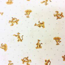 RPG474 Tigger The Tiger Children Story Book Winnie The Pooh Cotton Quilt Fabric