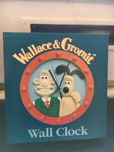 Wallace and Gromit  Wall clock New In Box