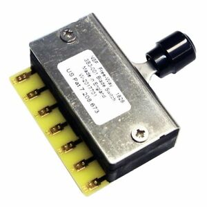 Free-Way 3B3-01 Freeway 6-Position Blade Switch For Tele