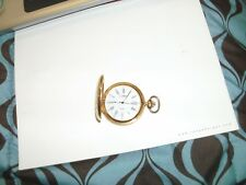 Out Of Box Never Used Colibri Gold Tone Pocket Watch
